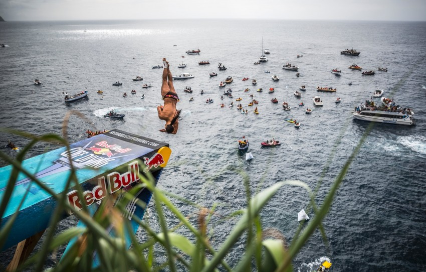 RA_Red Bull Cliff Diving Azores