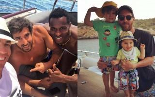 Ronaldo e Messi Ibiza