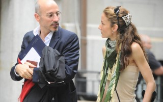 Telma Ortiz e ex-marido