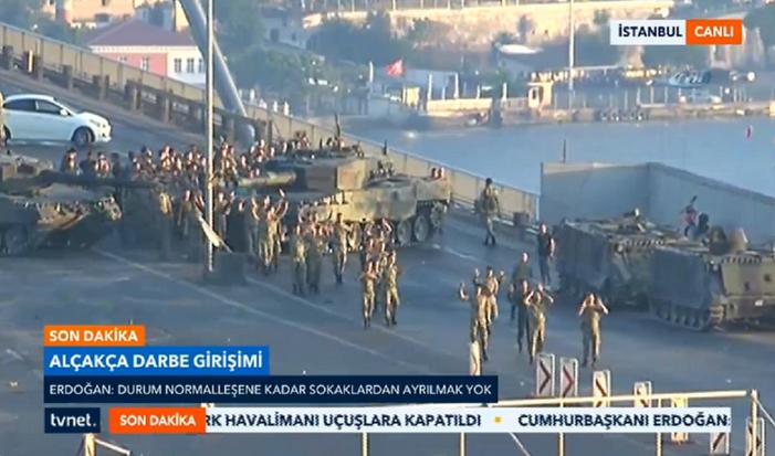 Tentativa de golpe de Estado na Turquia