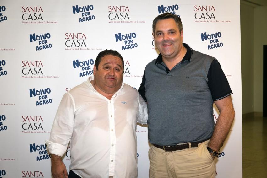 Fernando Mendes com Rui André