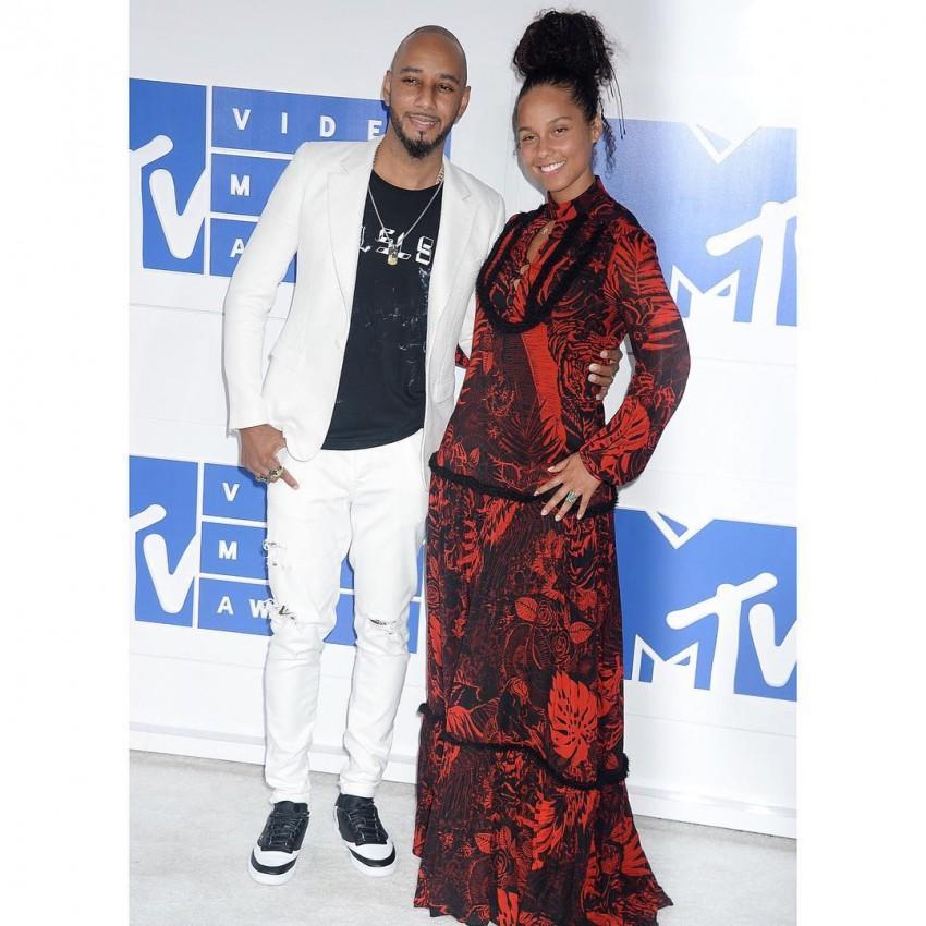 Alicia Keys com o marido