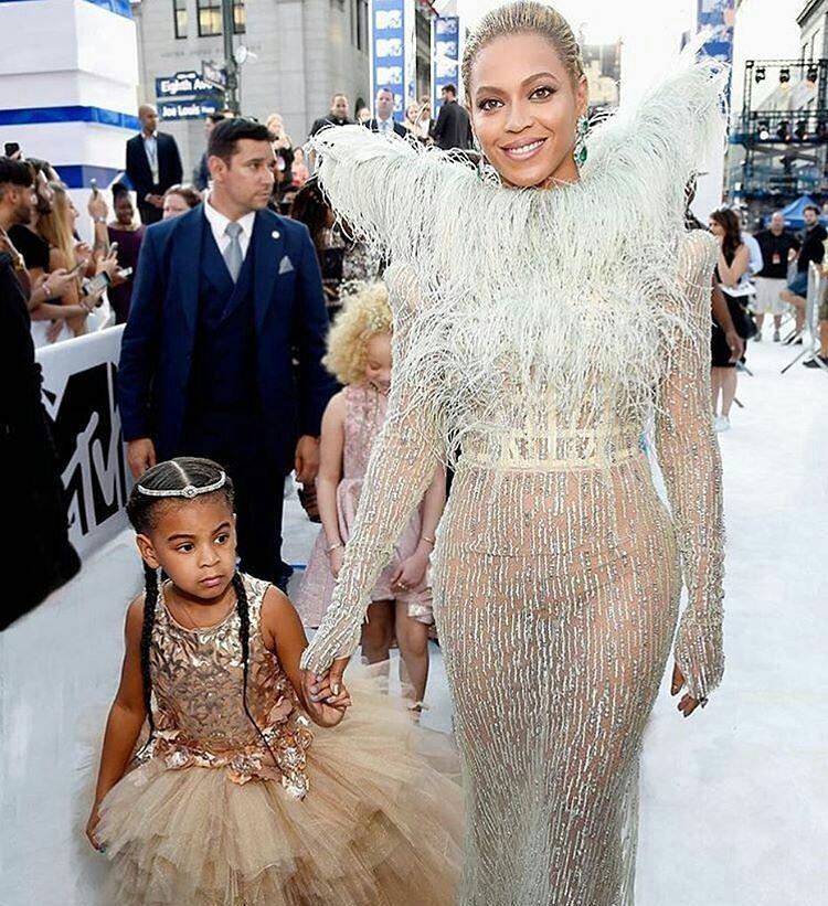 Beyonce com Blue Ivy