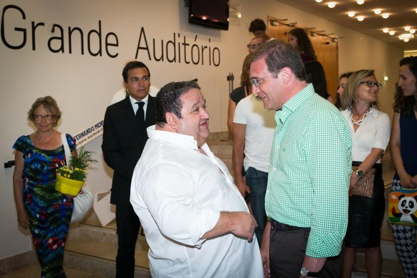Fernando Mendes e Pedro Passos Coelho