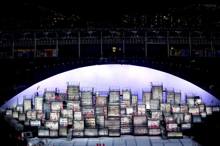 Abertura Jogos Olímpicos Rio 15