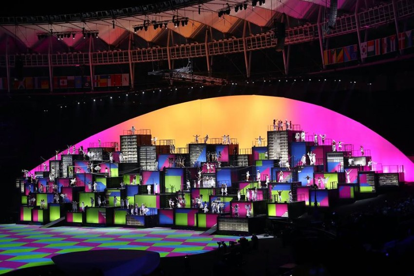 Abertura Jogos Olímpicos Rio 18