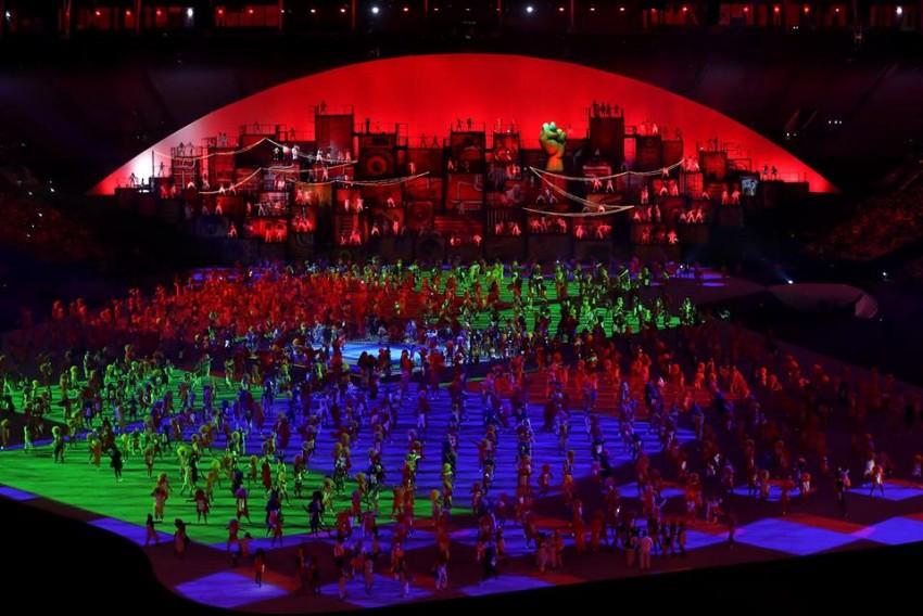 Abertura Jogos Olímpicos Rio 26