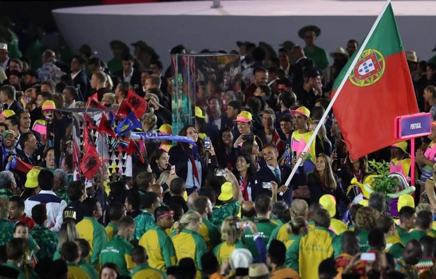 Portugal também foi muito aplaudido pelos presentes no Estádio do Maracanã