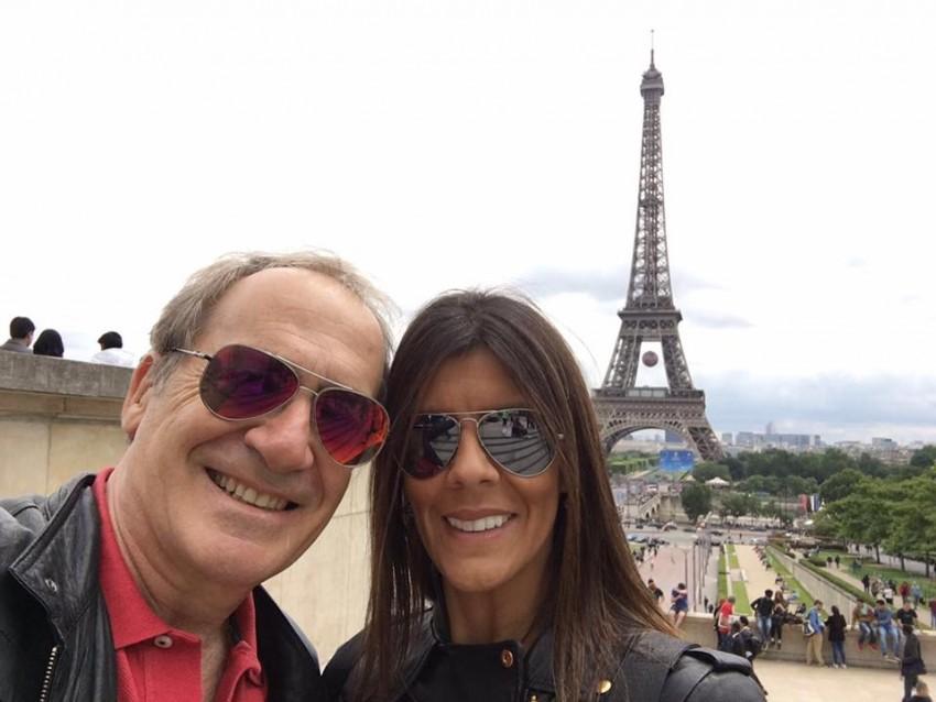 Numa viagem a Paris
