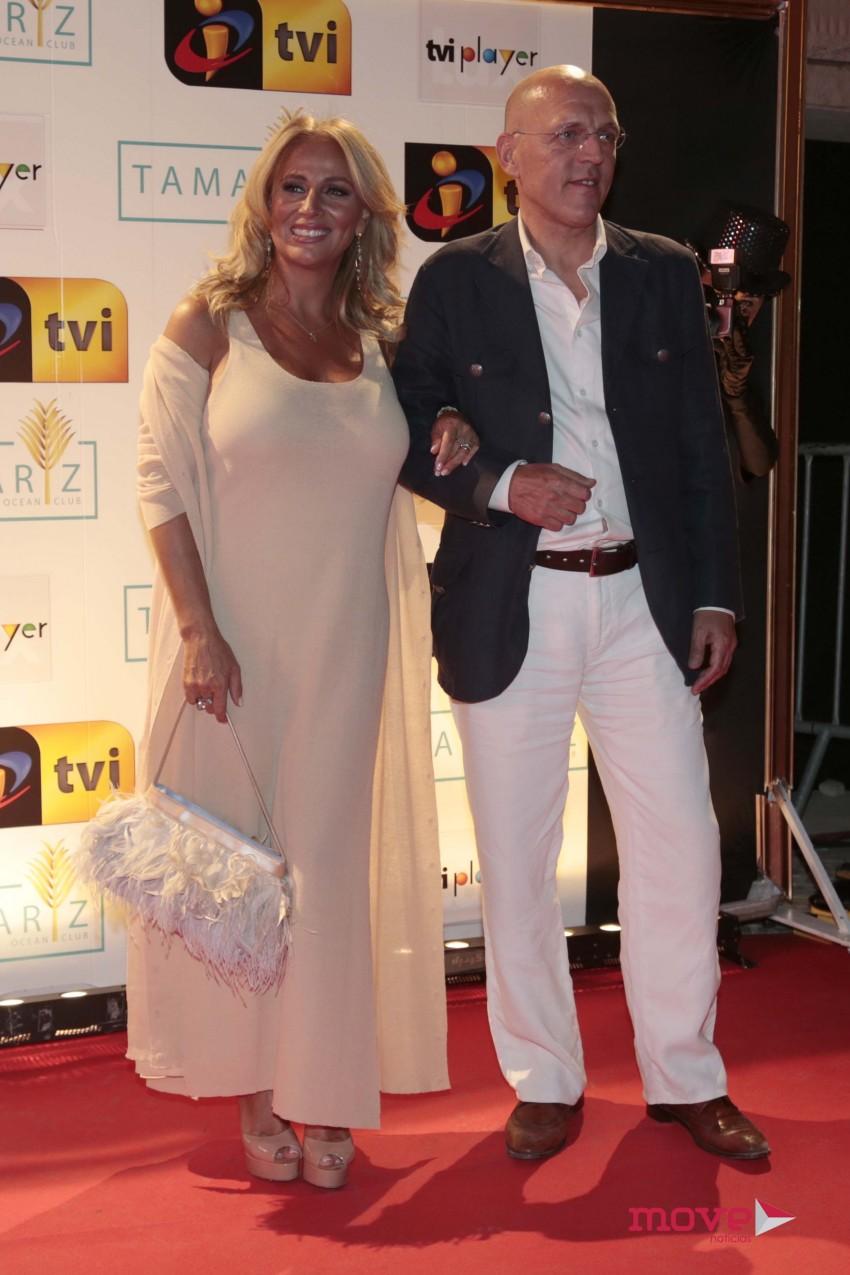 Alexandra Lencastre e José Walenstein