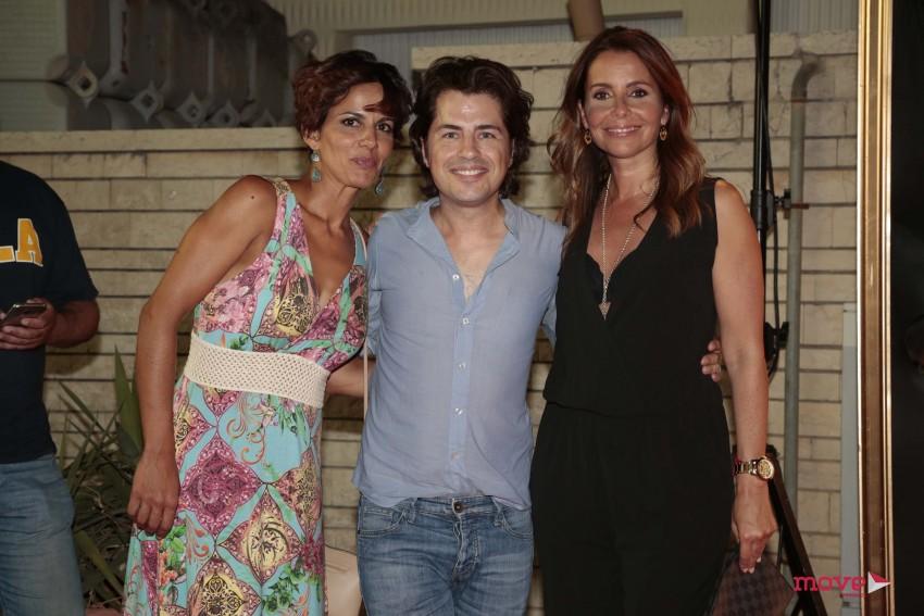 Susana Arrais, Pedro Górgia e Sofia Grilo