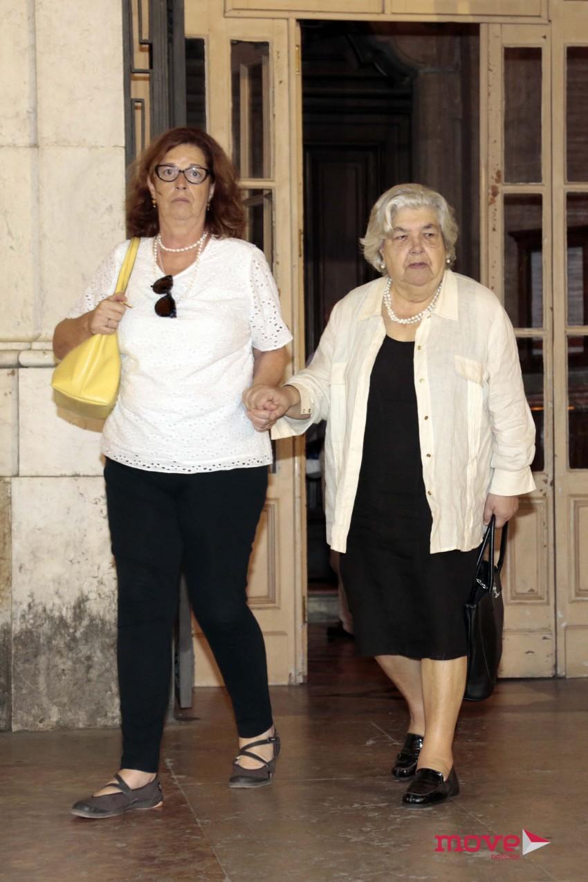 A prima, Alexandra Silva Araújo, e mãe de Margarida Sousa Uva