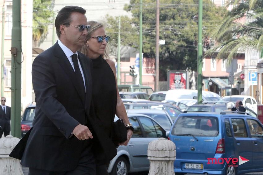 António Horta Osório e a mulher Ana