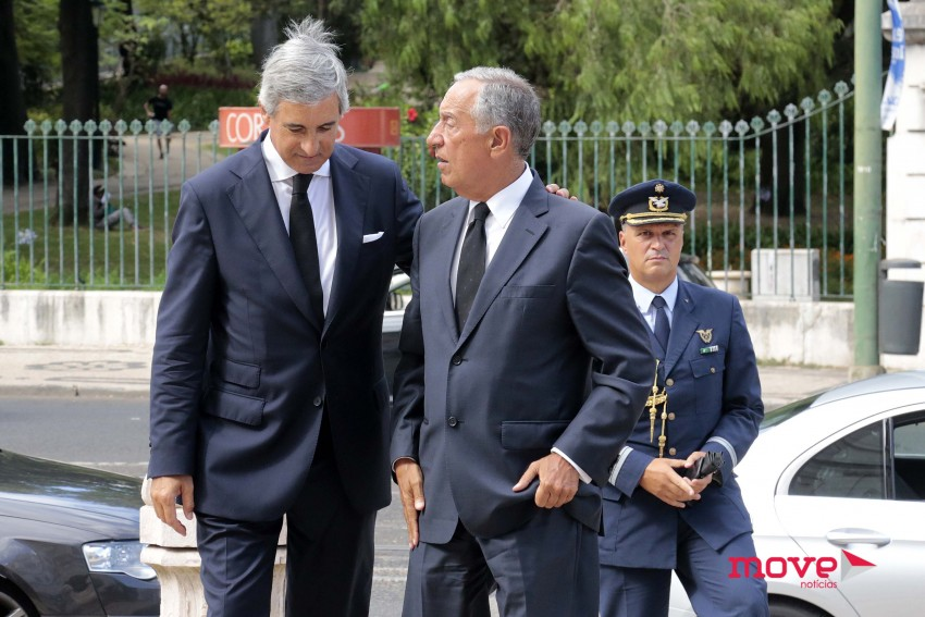 José Luís Arnaut e Marcelo Rebelo de Sousa