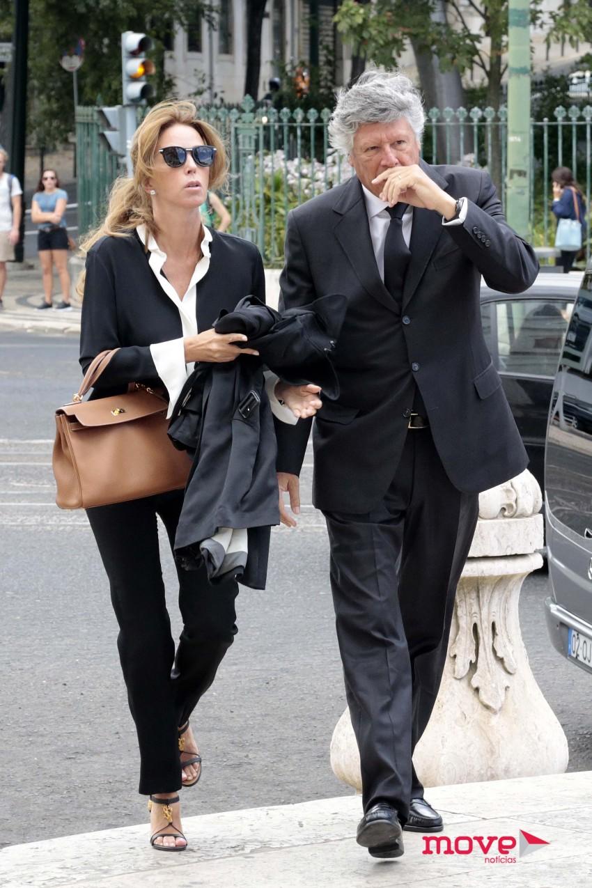 Pereira Coutinho e a mulher