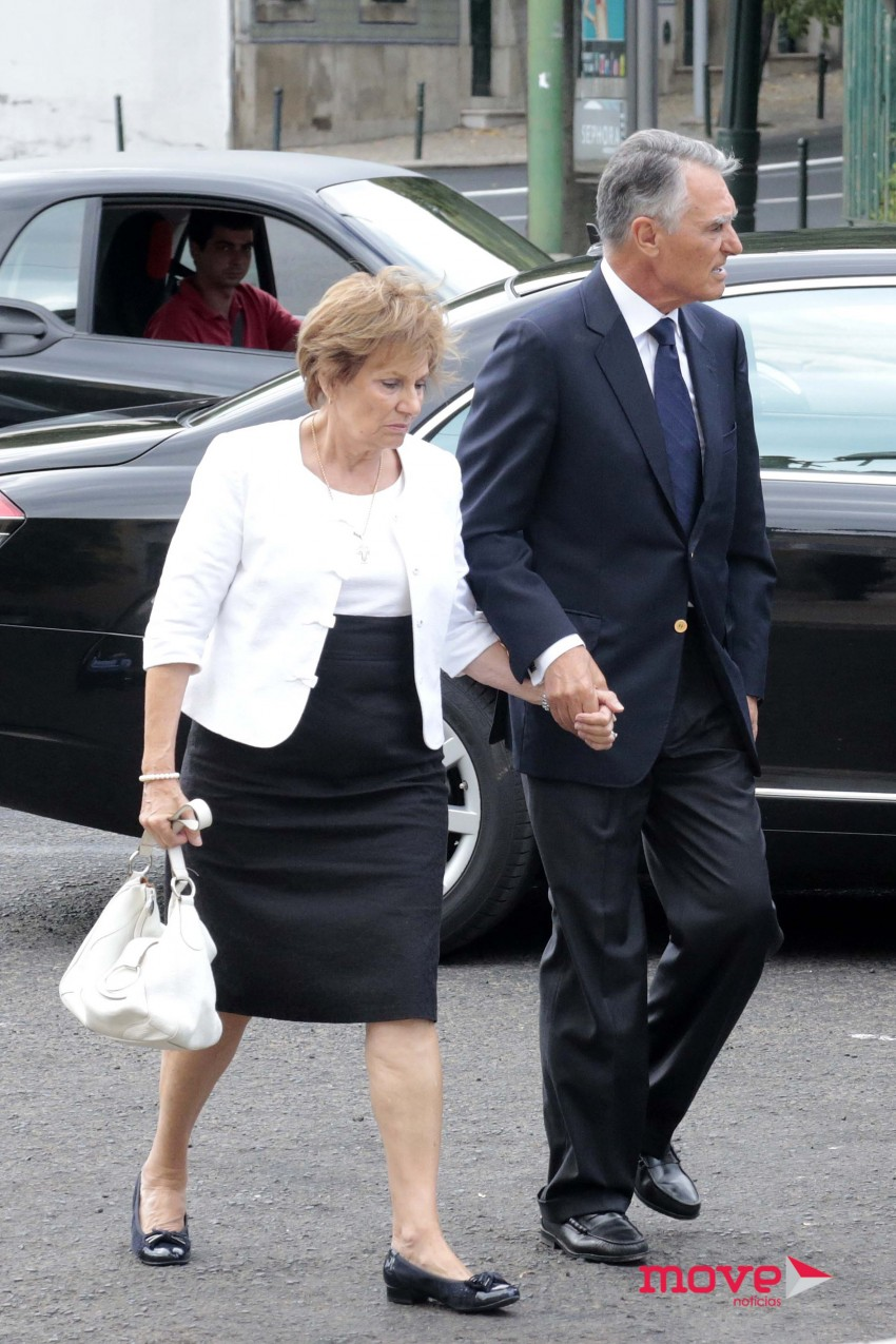Maria e Aníbal Cavaco Silva