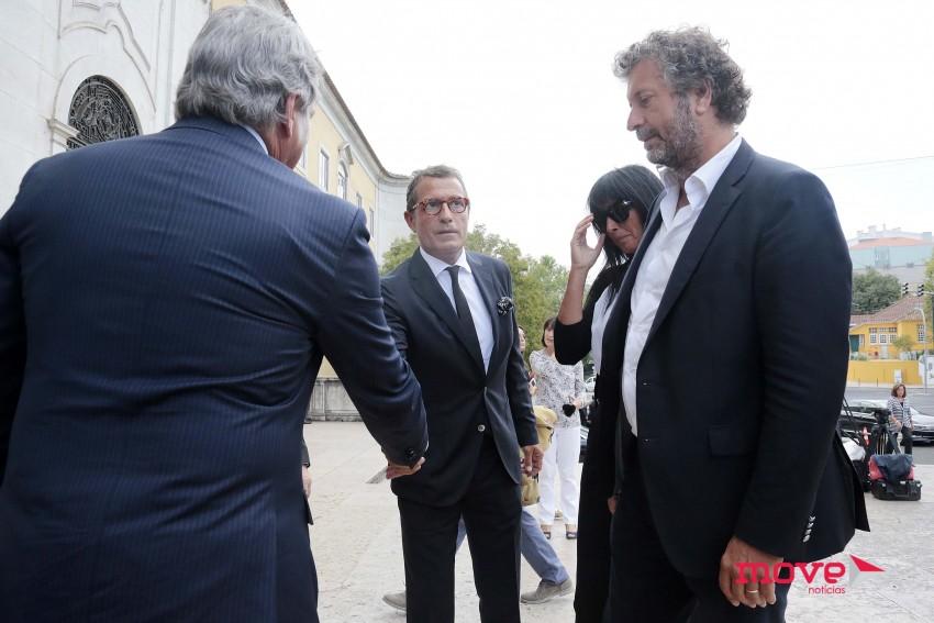 António Mexia e Guta Moura Guedes