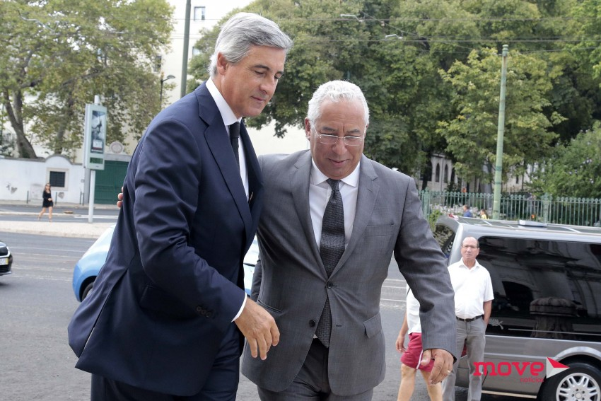 José Luís Arnaut com o Primeiro-Ministro António Costa