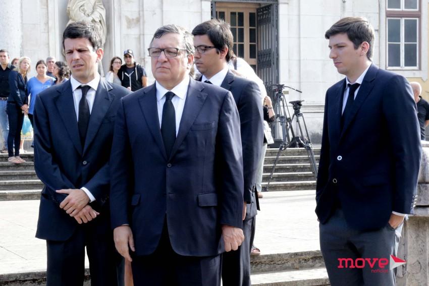 Luís, Durão Barros, Guilherme e Francisco