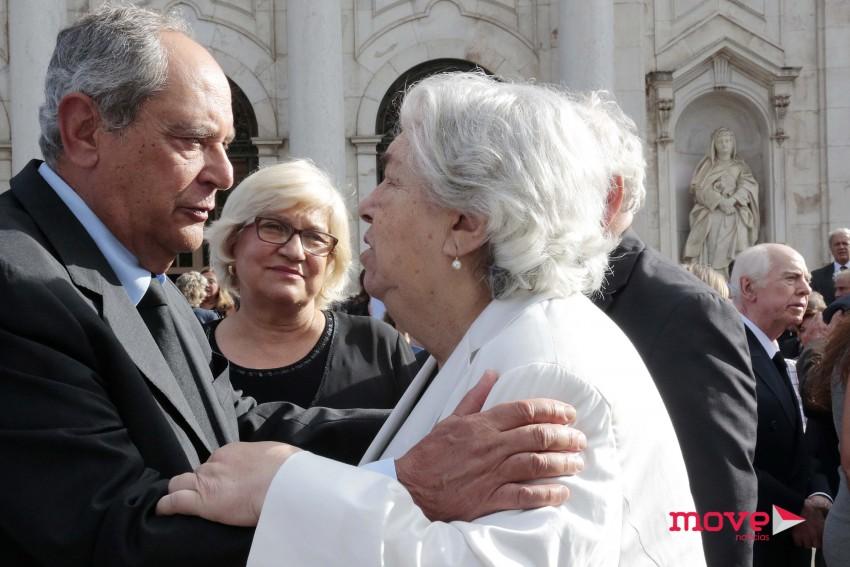 A mãe de Margarida Sousa Uva recebe as condolências