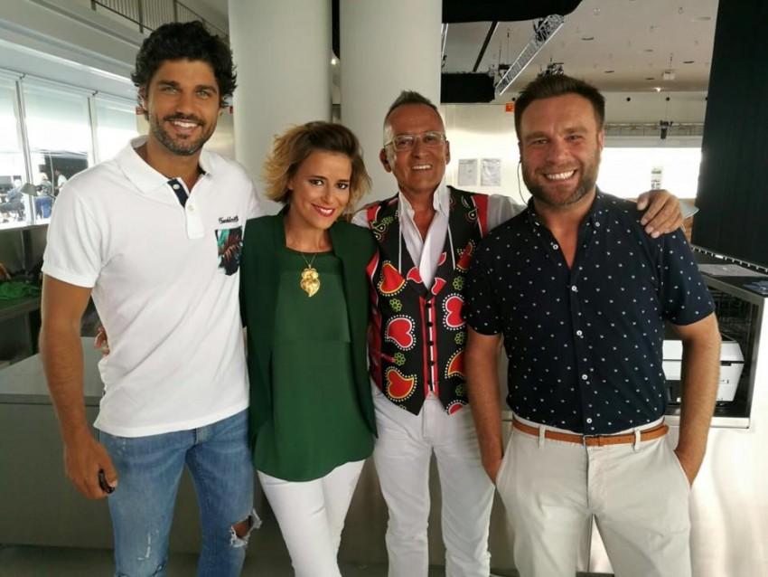 Agora é a nova aposta na apresentação da TVI, fazendo o programa 'Somos Portugal' ao lado de nomes como Leonor Poeiras, Manuel Luís Goucha e Nuno Eiró
