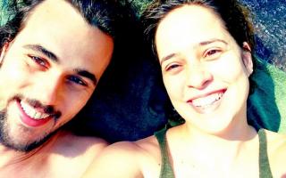 Bruno Ferrari e Paloma Duarte