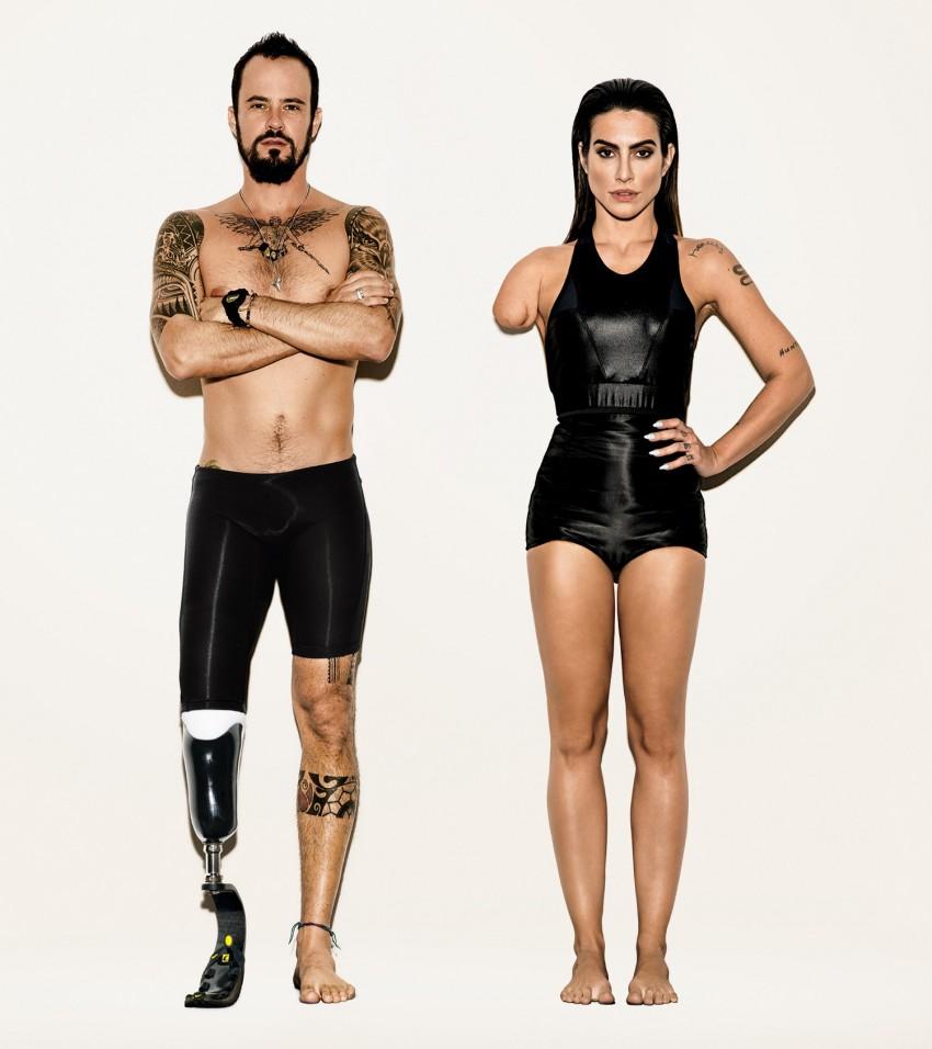A imagem oficial da campanha 'Somos Todos Paralímpicos'