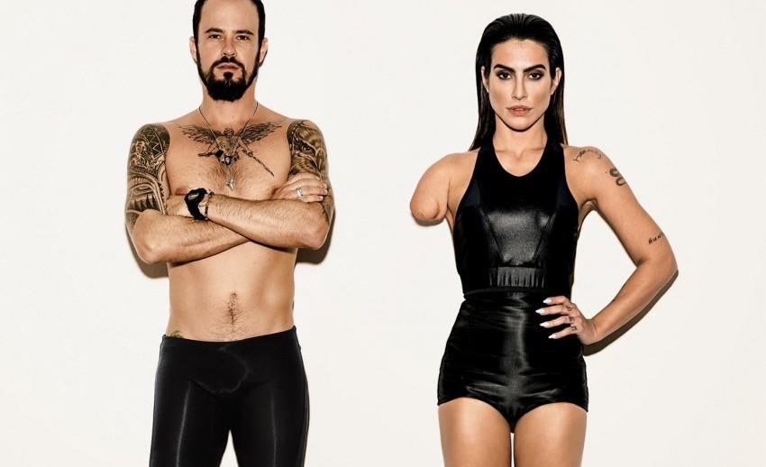 Cleo Pires e Paulino Vilhena Jogos Paralímpicos Rio