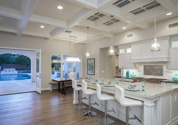 cozinha mansão Michael Phelps