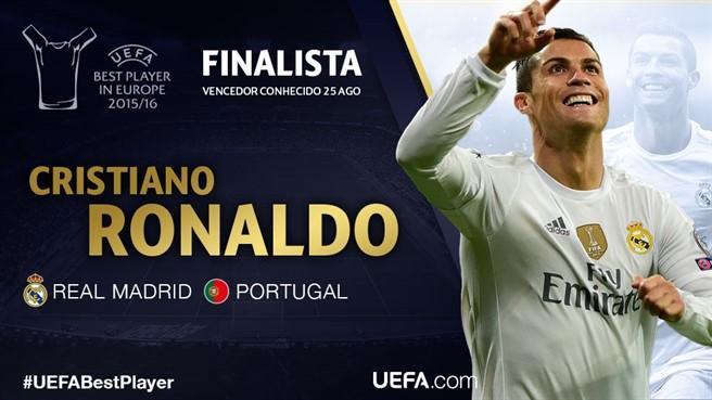 Cristiano Ronaldo Prémio UEFA