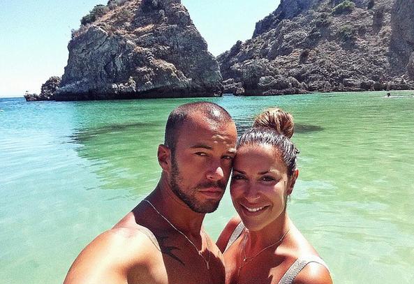 Dânia Neto e namorado Marcelo Resende 2