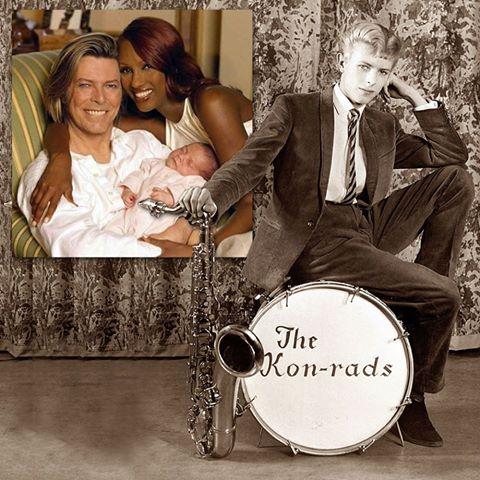 David Bowie e filha Lexi