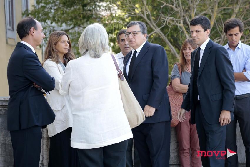 Durão Barroso com familiares e amigos