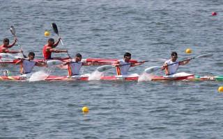Equipa olímpica de canoagem
