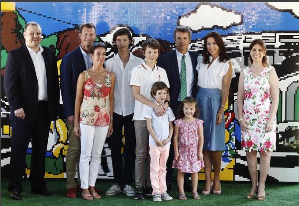 A família real da Dinamarca está em peso no Rio de Janeiro há já alguns dias