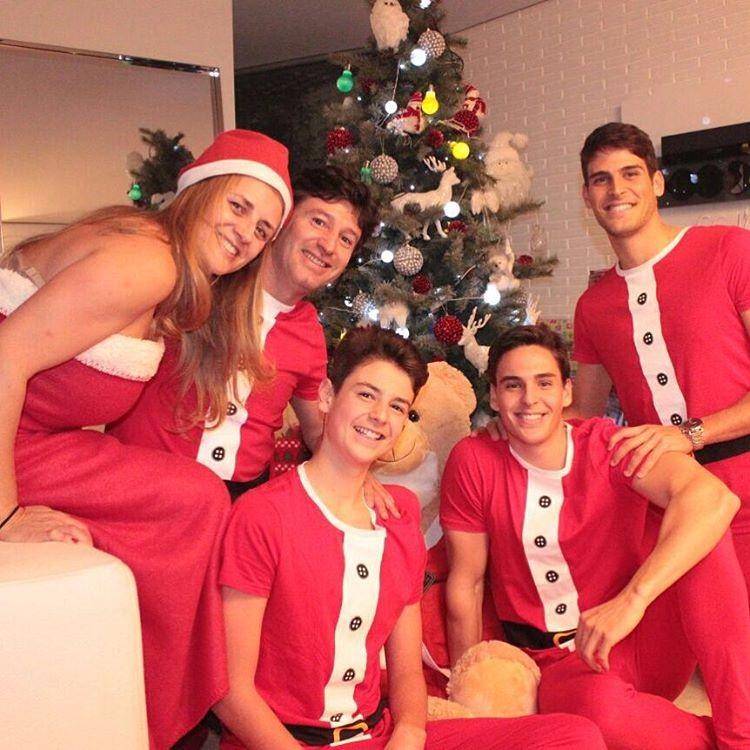 Família Paciência unida no último Natal