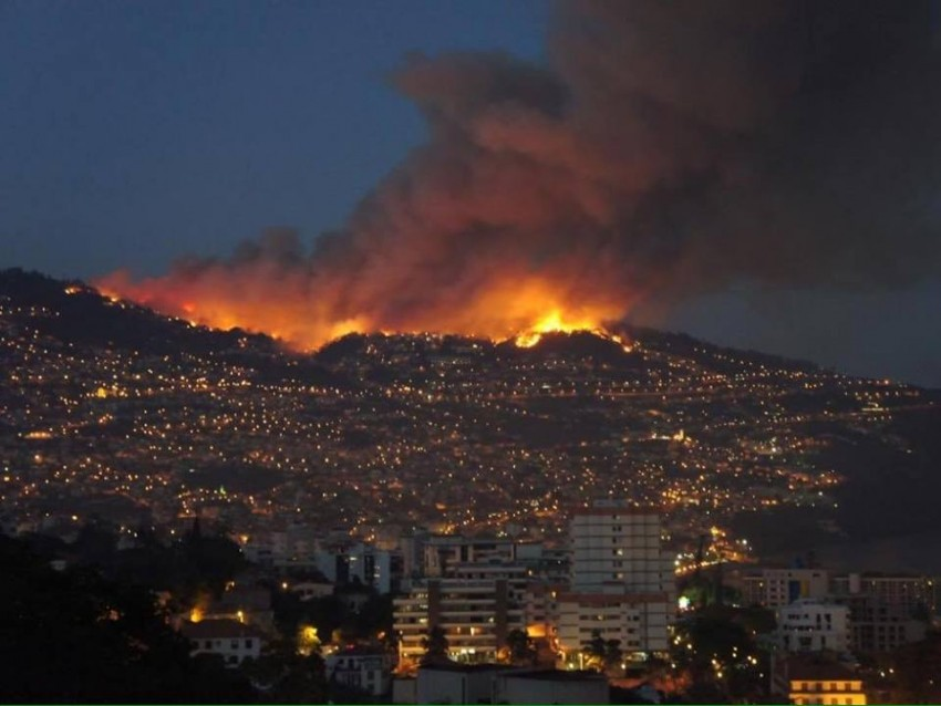 Fogo no Funchal