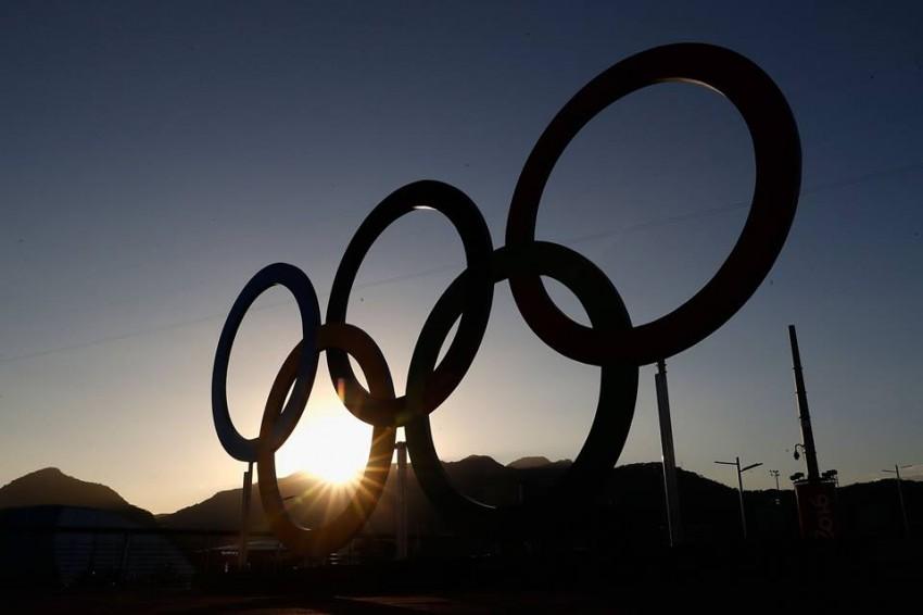 O multimilionário Richard Branson, dono da Virgin, também está a sentir o espírito olímpico e deseja boa sorte ao seu país, Reino Unido