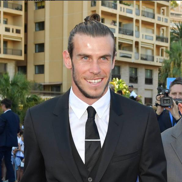 Gareth Bale Prémio Melhor Jogador UEFA 4