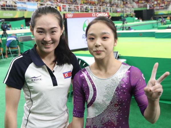 Hong Un-Jong e  Lee Eun-ju