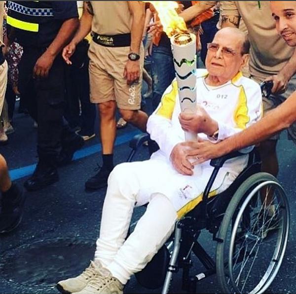 Ivo Pitanguy nos Jogos do Rio