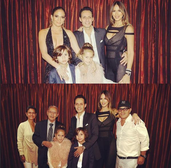 Jennifer Lopez , Marc Anthony, filhos e família