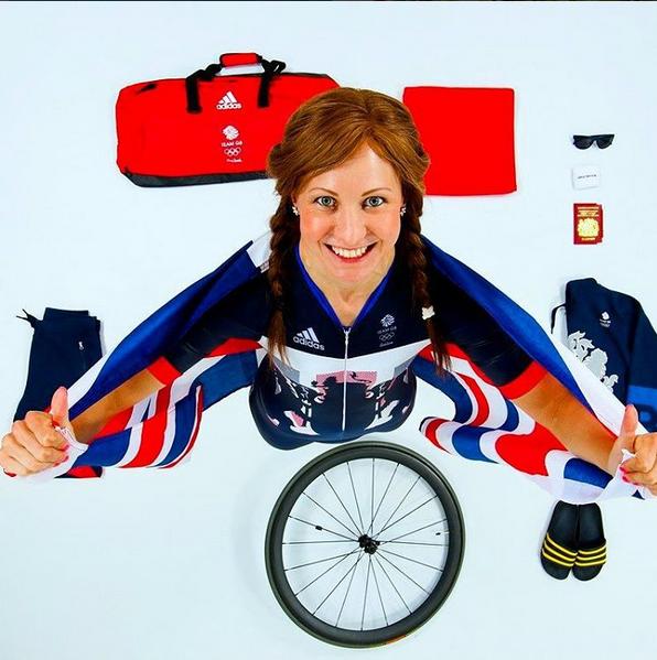 Joanna Rowsell Shand foi campeã olímpica em Londres 2012