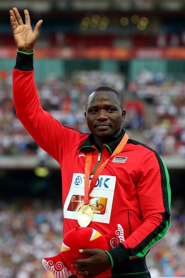 Na prova onde fez a sua melhor marca: 92,72 metros