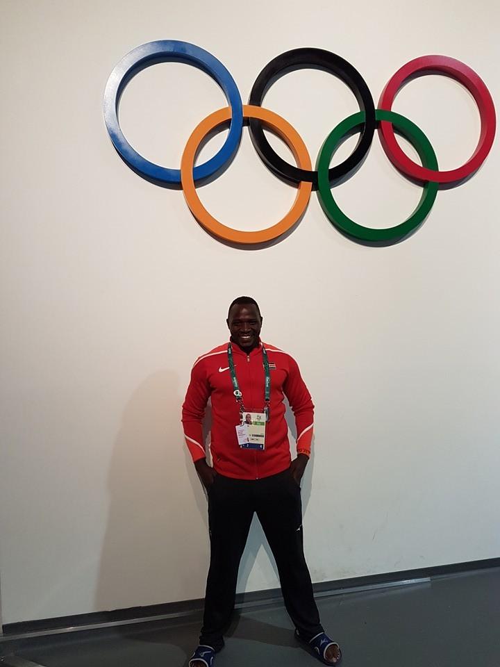 Entusiasmado com a participação nos Jogos Olímpicos do Rio de Janeiro