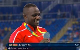 Julius Yego Medalha de Prata