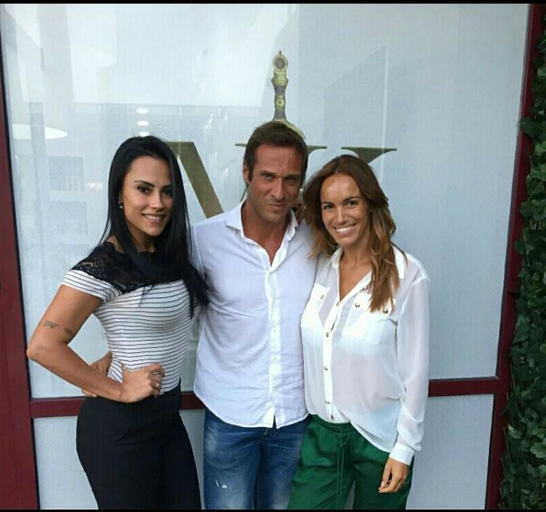 Kelly Medeiros, José Carlos Pereira e Liliana Aguiar