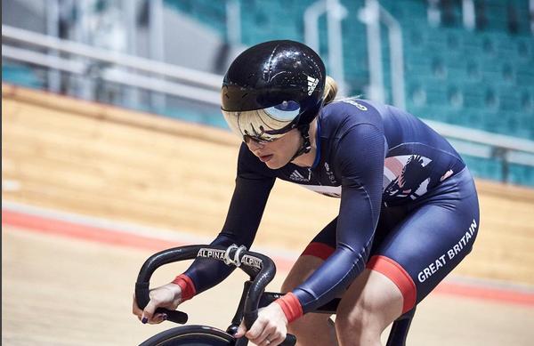 Laura Trott é uma das representantes do ciclismo do Reino Unido no Rio 2016
