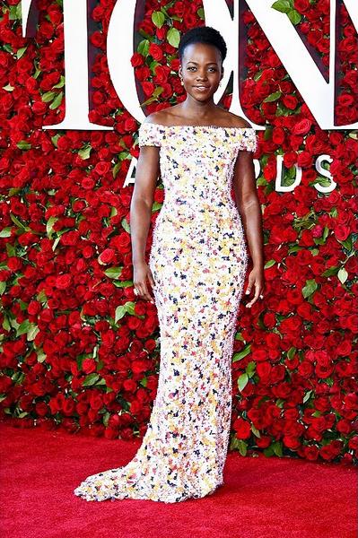 A atriz Lupita Nyong'o