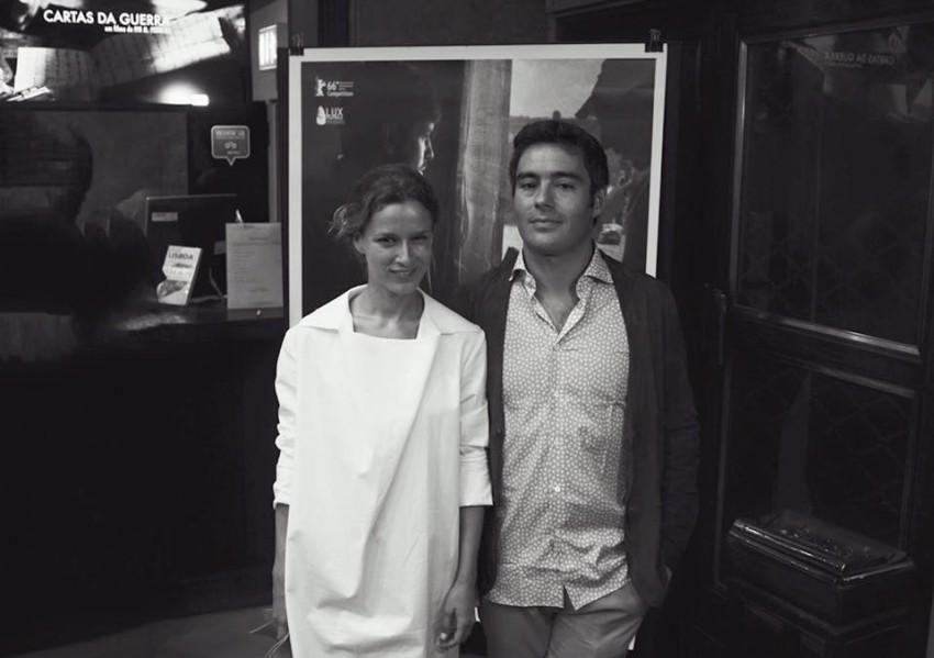 Margarida Vila Nova e o marido Ivo Ferreira, realizador do filme